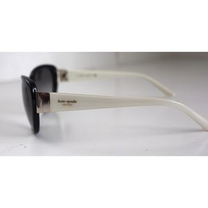 kate spade Accessories - Kate Spade Large Cat Eye Black&White Sunglasses